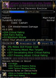 LOTRO: First Legendary Weapon, at last