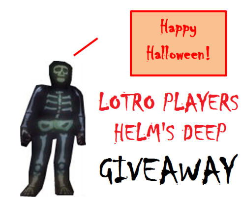 LOTRO: LOTRO PLAYERS HD GIVEAWAY
