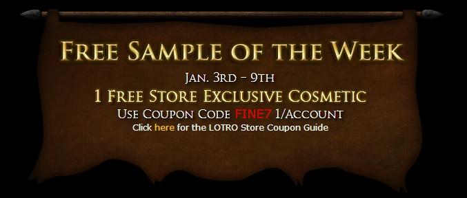 Lotro store sales 3/24/17 – 3/30/17 | lotro players.