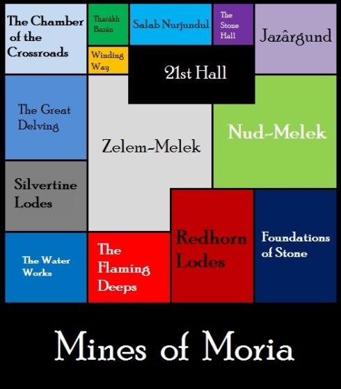 LOTRO: Mines of Moria Map