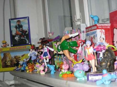 weird mix of japanese toys