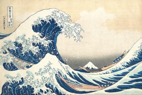 The Great Wave at Kanagawa Katsushika Hokusai (Japanese, Tokyo (Edo) 1760–1849 Tokyo (Edo))