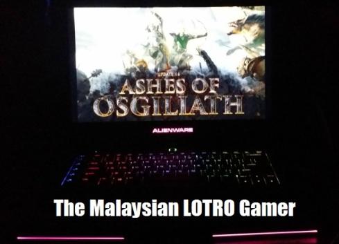 malaysian LOTRO gamer