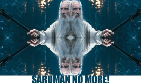 saruman no more
