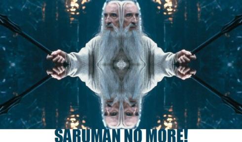 saruman no more