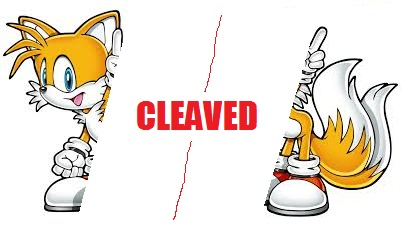 tails cleaved